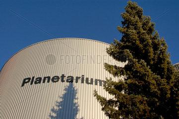 Das Planetarium in Luzern im Verkehrshaus der Schweiz.