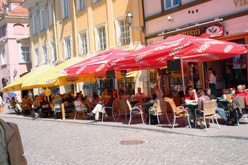 Litauen/Lithuania. Vilnius Altstadt
