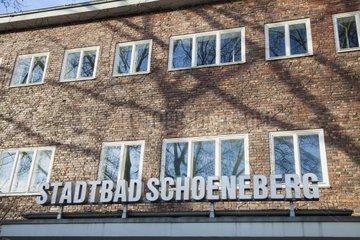 Stadtbad-Schoeneberg  Schwimmbad  Berlin Tempelhof-Schoeneberg