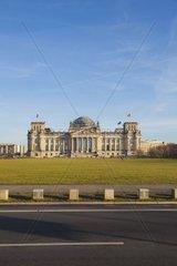 Reichstag  Reichstagsgebaeude  Bundestag  Berlin  Regierungsviertel