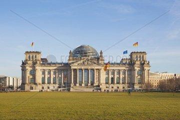 Reichstag  Reichstagsgebaeude  Bundestag  Berlin