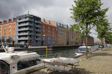 Wohnhaeuser in Kopenhagen