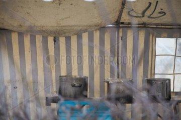 Fluechtlingslager am Oranienplatz  Camp  Kreuzberg  Berlin  Streiken  Fluechtlingscamp  Zelt