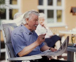 Alter  Rente  Senior  Seniorenheim  Ruhe