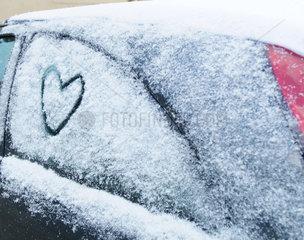 Herz  Liebe  Auto  car