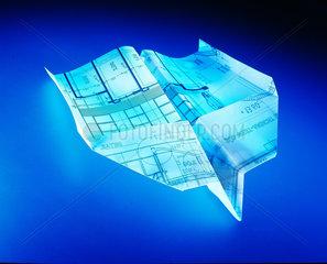 Flugzeug  Bauplan  Zeichnung  Architektur