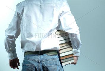 Datenklau  Buecher  Buch  Buchmesse  Messebesucher