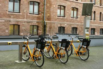 Fahrradvermietsystem Mainz
