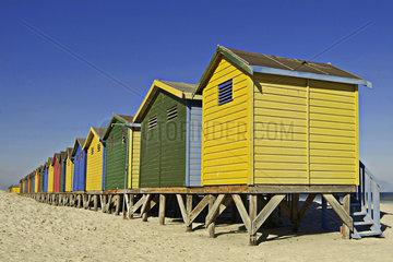 Suedafrika Strandhuetten