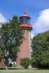 Leuchtturm Staberhuk  Insel Fehmarn  Ostsee  Kreis Ostholstein  Schleswig-Holstein  Deutschland  Europa