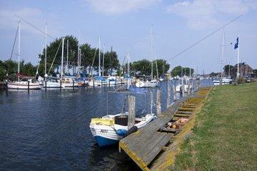 Hafen von Orth  Insel Fehmarn  Ostsee  Kreis Ostholstein  Schleswig-Holstein  Deutschland  Europa