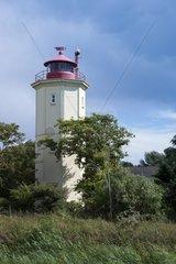 Leuchtturm Westermarkelsdorf  Insel Fehmarn  Ostsee  Kreis Ostholstein  Schleswig-Holstein  Deutschland  Europa