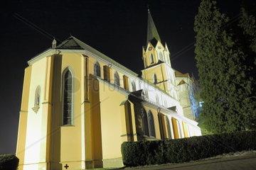 Monastery Bonlanden in Schwaben country