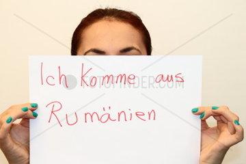 Ich bin aus Rumaenien