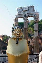 Rome - Fori Imperiali mit sphinx