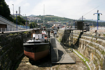 Schifffahrtsmuseum in Bilbao  Hauptstadt der Provinz Bizkaia  Baskenland  Spanien  Europa
