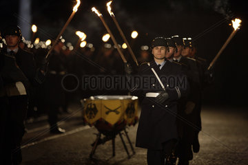 Zapfenstreich farewell ceremony for Wulff