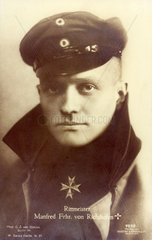 Manfred Freiherr von Richthofen  Jagdflieger  1918