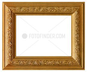 alter goldener Bilderrahmen  1895