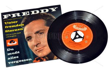 Schallplatte  Hit von Freddy Quinn  1959