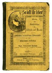 So sollt ihr leben  Buch von Pfarrer Kneipp  1894
