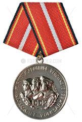 DDR-Orden  Verdienstmedaille der Nationalen Volksarmee  1965