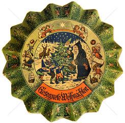 antiker Adventsteller  1925