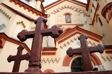 Vilnius. orthodoxe Kirche des Heilige Michael