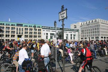 Fahrradkorso in berlin