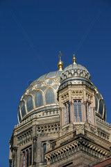Berlin - Kuppel der Synagoge in die Oranienburger strasse