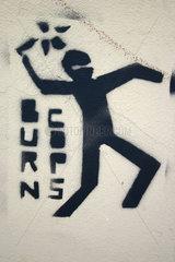 Vermummt Street art