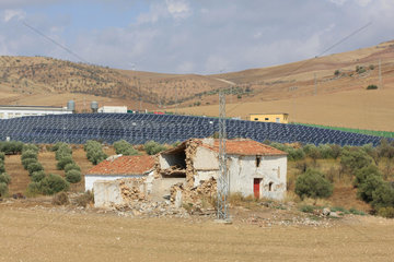 Photovoltaikanlage in Andalusien