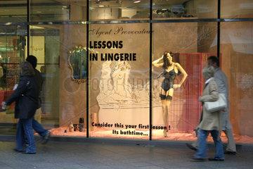 Galeries la Fayette - Lingerie von Agent Provocateur
