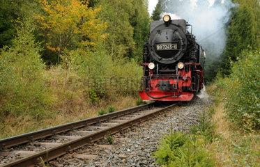 Schmalspurbahn im Harz