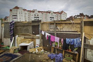 Romasiedlung in Belgrad