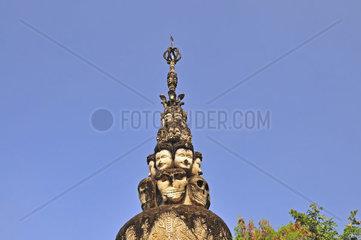 Wat Khaek  auch Sala Kaew Ku Skulptur Park  Nong Khai  Thailand  Asien