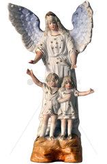Schutzengel behuetet Kinder  1912