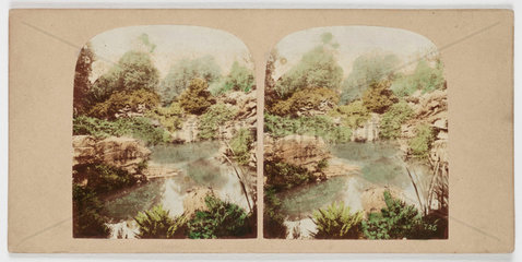 'View of the Rock Pond...'  c 1880