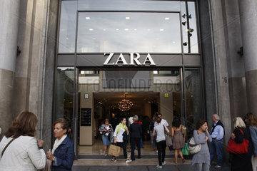 ZARA flagship store in Barcelona