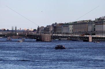 Fluss Newa bei St. Petersburg