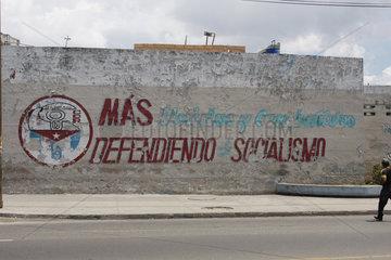 Defendiendo el Socialismo im Havanna
