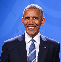 Barack Obama auf seiner Farewell Tour in Berlin