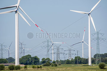 Windpark bei Niebuell