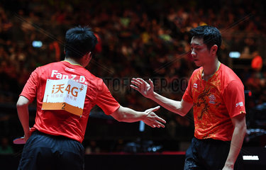 (SP)GERMANY-DUSSELDORF-TABLE TENNIS-WORLD CHAMPIONSHIPS