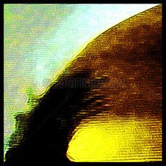 Abstraktion  Flimmern  Rauschen