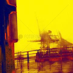 Hafen Kran