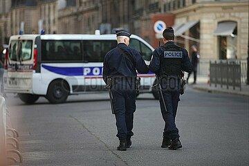 Franzoesische Polizisten