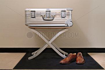 Koffer im Hotel