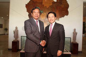 CAMBODIA-PHNOM PENH-LAOS-ANTI-DRUG COOPERATION