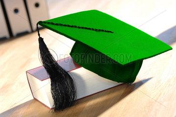 Abschluss; ACADEMIC; AKADEMIKER; Aufstieg; Ausbildung; Aussenaufnahme; BACHELOR; BACHELOR BARETT; BACHELOR MASTER SYSTEM; Bildung; Bildungssystem; Bildungswesen; college; colleges; Deutschland; DOCTORS DEGREE; DOKTORHUeTE; DOKTORHUT; Education; Erfolg; er